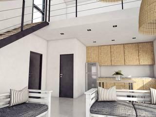 CABAÑAS PRE-FABRICADAS : Livings de estilo  por FILIPPIS/DIP - DISEÑO Y CONSTRUCCION