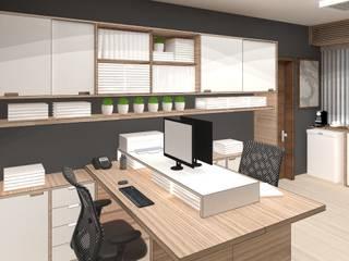 modern Study/office by Arquiteta Fernanda Fedrizzi
