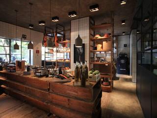 Panadería Aromas de PASQUINEL Studio Moderno