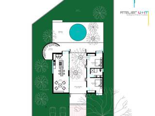 PO1: Casas de estilo  por Atelier U + M