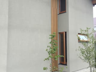 株式会社山崎屋木工製作所 Curationer事業部 Modern windows & doors Wood Wood effect