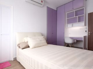 Modern style bedroom by inDfinity Design (M) SDN BHD Modern