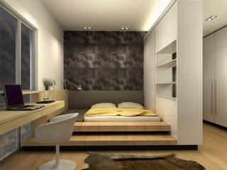 Cuartos de estilo  por inDfinity Design (M) SDN BHD,