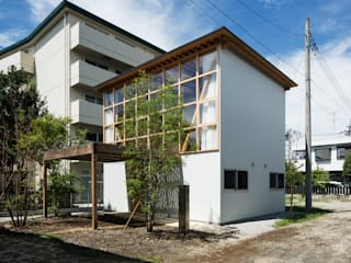 Häuser von 山路哲生建築設計事務所, Ausgefallen