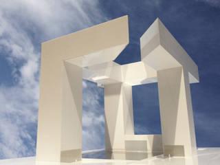 Edificio UTOPIA: Lojas e espaços comerciais  por Raul Garcia Studio,Minimalista