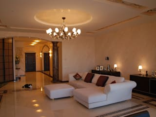Private House Germany Salas de estar clássicas por M.M. Lampadari Clássico