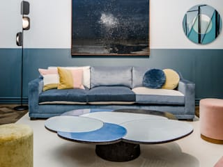 Residence VII - Framework Studio Project Salas de estar modernas por M.M. Lampadari Moderno