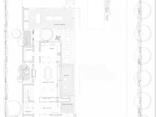 Planta Baja General:  de estilo  por 1.61 Arquitectos