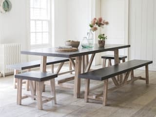 Chilson Table and Bench Set:   by Modish Living