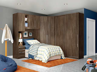 Henn BedroomWardrobes & closets MDF