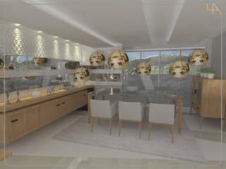 Humanize Arquitetura Modern dining room