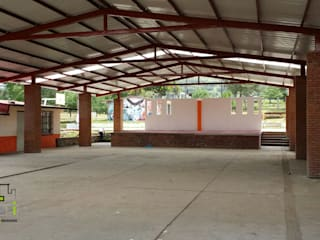 Techumbre Escuela Primaria Melchor Ocampo: Escuelas de estilo  por ARCO +I