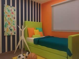 Habitaciones para niños y bebes Dormitorios infantiles modernos de Roccó Moderno