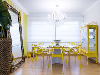 Eclectic style dining room by arquiteta aclaene de mello Eclectic