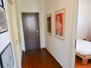 Studio Fori Corridor, hallway & stairsAccessories & decoration Wood Wood effect
