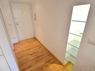 Studio Fori Corridor, hallway & stairsAccessories & decoration Wood White