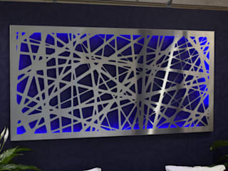 Stainless Steel Wall Art:   by Decori