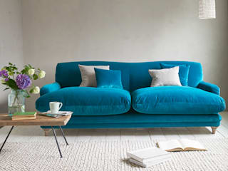 Pudding sofa Loaf Living roomSofas & armchairs Textile Blue