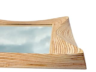 Wooden living room mirror:   by SurreyWoodsmiths