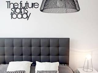Mieszkanie | Gdańsk Skandynawska sypialnia od Kul design Skandynawski
