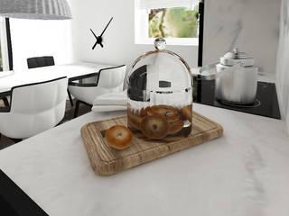 Apartament | Gdańsk: styl , w kategorii Kuchnia zaprojektowany przez Kul design