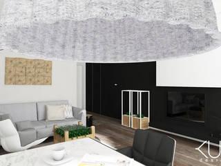 Apartament | Gdańsk: styl , w kategorii Salon zaprojektowany przez Kul design