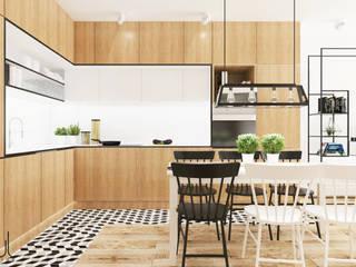 Dom I | Lębork: styl , w kategorii Kuchnia zaprojektowany przez Kul design