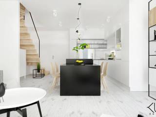 Dom II | Lębork: styl , w kategorii Jadalnia zaprojektowany przez Kul design