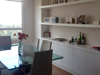 Modern Dining Room by Alejandra Zavala P. Modern