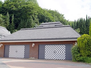 Garagens e edículas  por Heinrich Henke GmbH