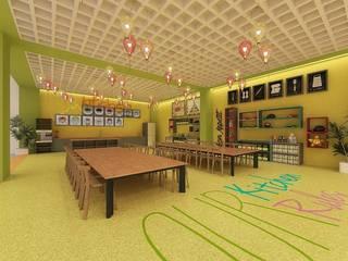 Ofis 352 Mimarlık Hizmetleri Ecoles modernes Blanc