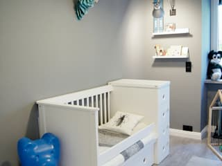 Nursery/kid's room by Pink Pug Design Interior, Scandinavian