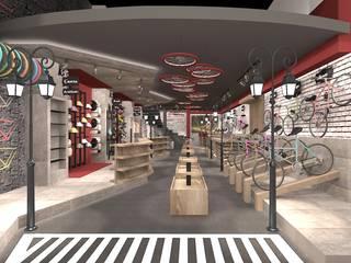 Modern offices & stores by ESA PARK İÇ MİMARLIK Modern