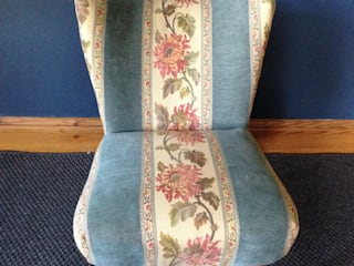 Traditional Victorian Nursing Chair :   by Emily Craven Interiors
