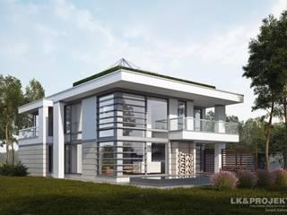 LK1298: styl , w kategorii Ogród zaprojektowany przez LK & Projekt Sp. z o.o.,
