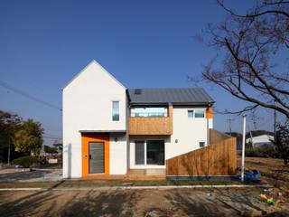 Modern houses by 주택설계전문 디자인그룹 홈스타일토토 Modern