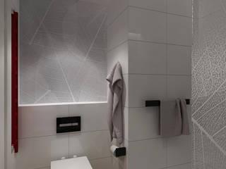 Wnętrza prywatne: styl , w kategorii Łazienka zaprojektowany przez DGM Architekci