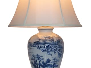 Oriental Chinese Table Lamps Asia Dragon Furniture from London HogarAccesorios y decoración