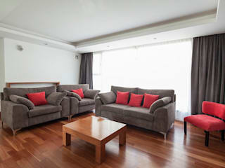 Casa M: Livings de estilo  por DMS Arquitectura