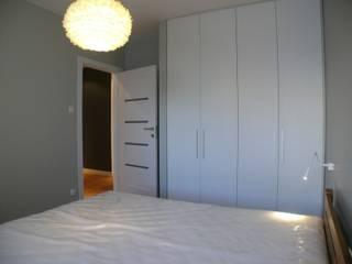 Mieszkanie na ul. Wielickiej: styl , w kategorii Sypialnia zaprojektowany przez VALENT Kompleksowo Projektowanie Aranżacja i Wykończenia Wnętrz