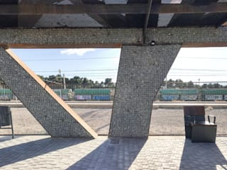 Jardin industriel par arqubo arquitectos Industriel