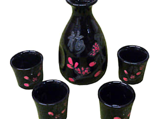 Chinese Tableware ~ Teapot Sets, Rice Bowls and Sake Jars de Asia Dragon Furniture from London Asiático