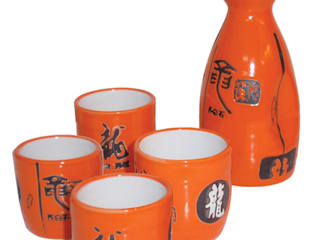 Chinese Tableware ~ Teapot Sets, Rice Bowls and Sake Jars Asia Dragon Furniture from London ในครัวเรือนของใช้ในบ้าน