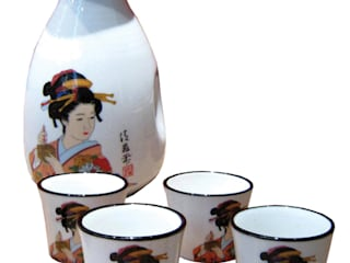 Chinese Sake Set:   by Asia Dragon  Furniture  from London