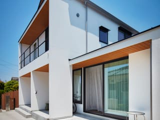 HouseHKSD モダンな 家 の 川良昌宏建築設計事務所 Kawara Masahiro Architect Office モダン