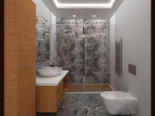 ESA PARK İÇ MİMARLIK – LBC İNŞAAT -76.CADDE ÖRNEK DAİRE : modern tarz Banyo