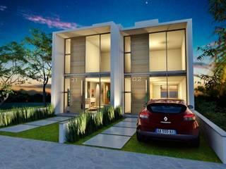 Casas de estilo  por hola