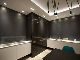 apartament Chodkiewicza: styl , w kategorii Kuchnia zaprojektowany przez ON/OFF Architekci