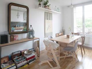 Dining room by Olivier Olindo Architecte