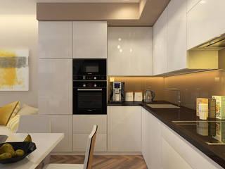 Modern kitchen by Design interior OLGA MUDRYAKOVA Modern
